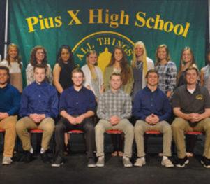 Pius X High School - Student Athlete Signing Ceremony