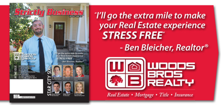 Ben Bleicher, Realtor - Woods Bros - Cover