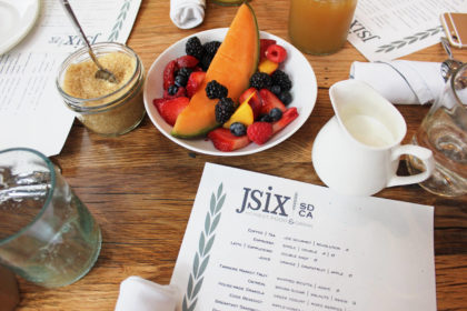 Travel Series Destination San Diego - JSix Restaurant