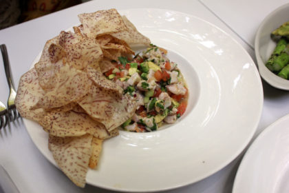 Travel Series Destination San Diego - Parq Restaurant - Ceviche