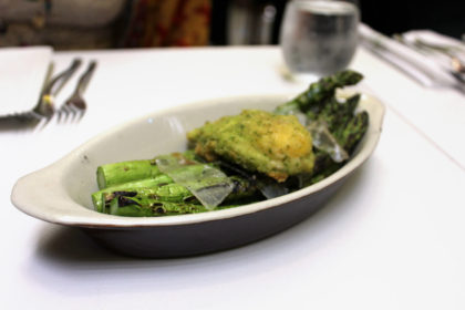Travel Series Destination San Diego - Parq Restaurant - Grilled Asparagus