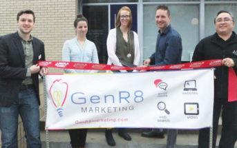 GenR8 Marketing Ribbon Cutting Photo
