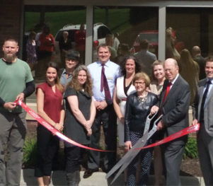 Greenleaf Properties Ribbon Cutting