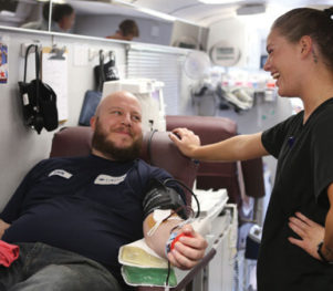 Blood Donor-Nebraska Community Blood Bank-Photo