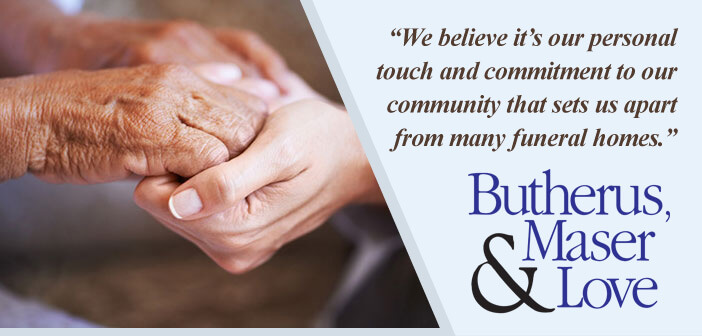 Header - Butherus, Maser & Love Funeral Home - Client Spotlight