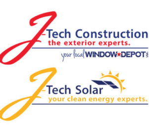 J-Tech Construction & J-Tech Solar Logos
