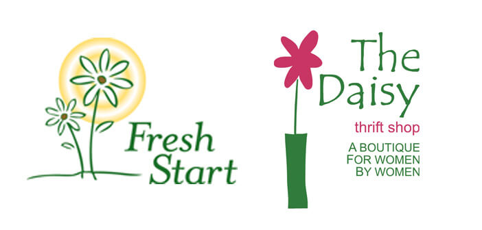 Logo- Fresh Start's The Daisy Thrift Shop