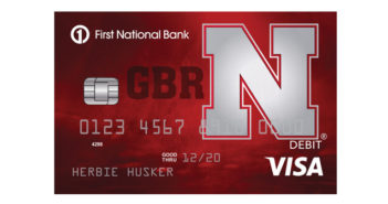 First National Bank Fan Card