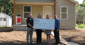Home Builders Association of Lincoln - Habitat for Humanity donation