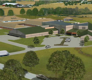 Kingery Construction Project Rendering - Community Corrections Center