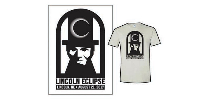 Lincoln Eclipse 2017 T-shirt
