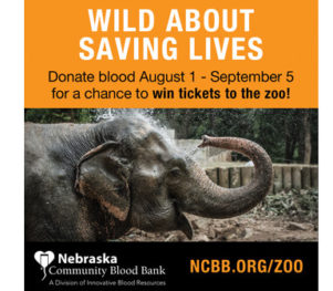 Nebraska Community Blood Bank - Win Tickets 2017