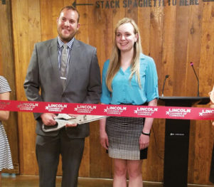 The Talon Room Ribbon Cutting - LCOC