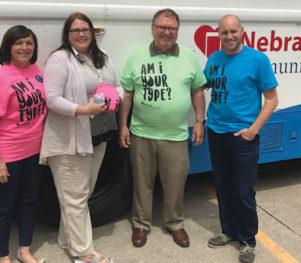 Deb Wagner - Woods Bros Realty - Nebraska Community Blood Bank