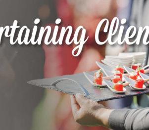 Entertaining Clients, Client Relationships - 2017