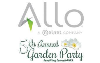 Allo Communications - Garden Party to benefit Domesti-PUPS - Logos