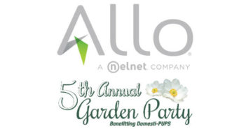 Allo Communications - Garden Party to benefit Domesti-PUPS - Logos