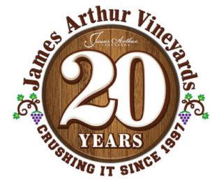 James Arthur Vineyards 20th Anniversary