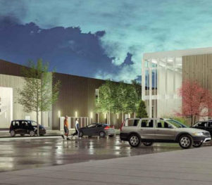 Ironhide Construction Papillion Community Center Fieldhouse Rendering