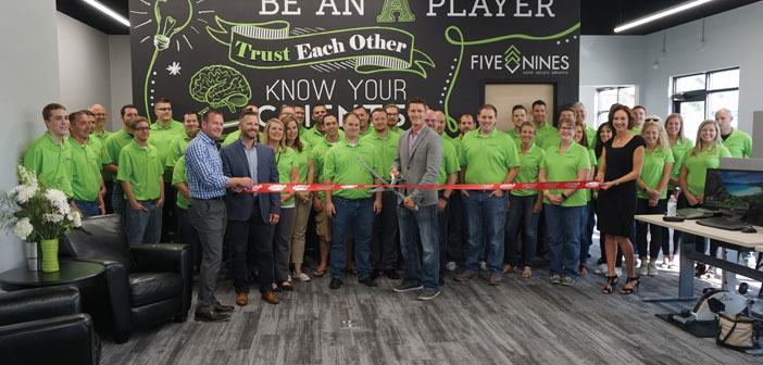 Five Nines-Ribbon Cutting