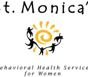 St. Monica's Logo
