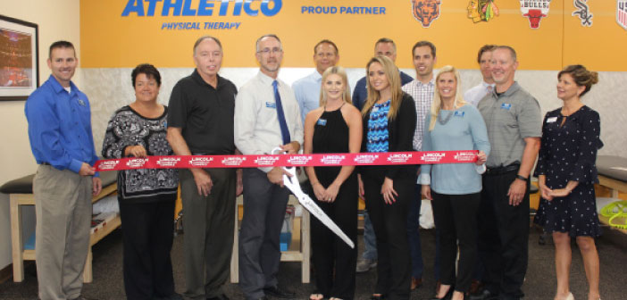 Athletico Physical Therapy Celebrates Grand Opening With Ribbon Cutting Ceremony Strictly Business Magazine Lincoln