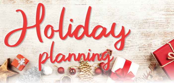 Holiday Planning in Lincoln, NE – 2019