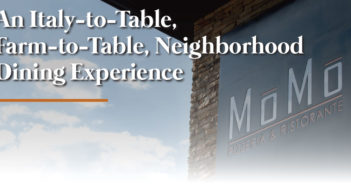 An Italy-to-Table, Farm-to-Table, Neighborhood Dining Experience