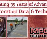 McGill Restoration – Celebrating 35 Years of Advancement in Restoration Data & Technology